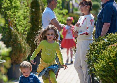 Budai Kertcentrum életkép boldogság