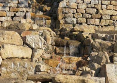 Budai Kertcentrum kertépítés - patak
