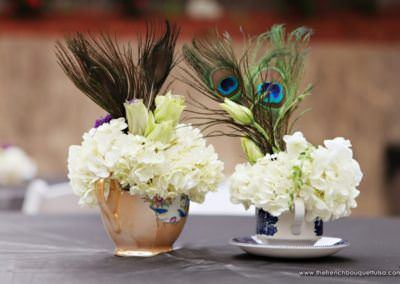 Hortenzia asztaldísz